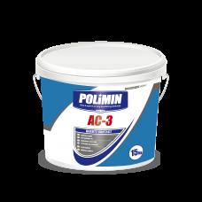 Адгезионная грунтовка Polimin АС-3 КОНТАКТ-Грунт, 15 кг