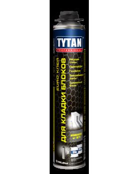 TYTAN Professional клей для кладки газобетона PU-GUN серый (870мл)