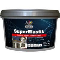 Краска резиновая Dufa SuperElastik черная 12 кг RAL 9004