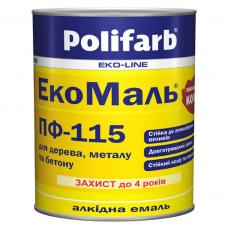 ЭкоМаль ПФ-115 ТМ Polifarb 2,7 кг (бежевый)