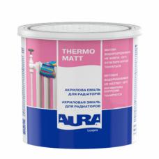 Эмаль для радиаторов матовая Aura Luxpro Thermo Matt (0,75 л)