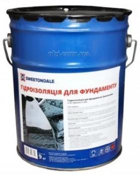 Мастика гидроизоляционная для фундамента Sweetondale 3кг