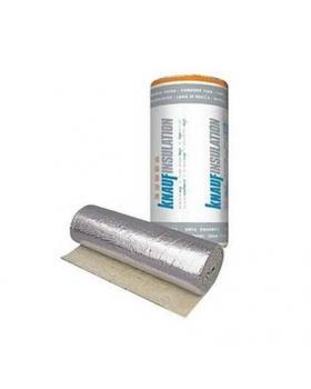 """Минеральная вата """"Knauf"""" Insulation LMF AluR 30 мм (фольгированная) 8м²"""