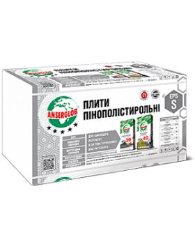 Пенопласт EPS-S Anserglob  5 см (1 х 1 м)