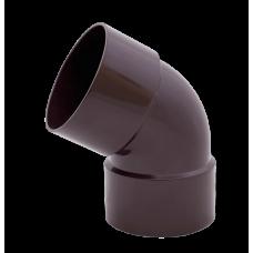 """Колено дворострубное """"Profil"""" коричневое 60° 130 х 100 мм"""