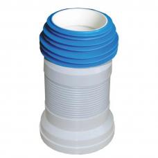 Гофра для унитаза SANTAN Aqua с пружиной 290-550