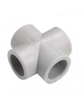 Крестовина соединительная полипропиленовая 25 мм Экопластик