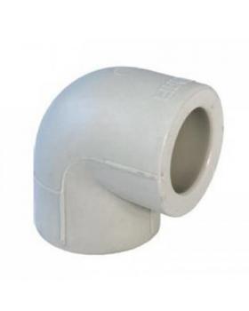 Колено полипропиленовое 40 мм Экопластик 90°