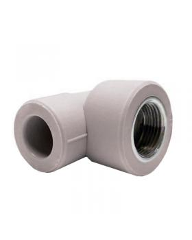 Колено резьбовое 25 мм 3/4 Экопластик ВР