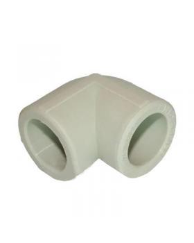 Колено полипропиленовое 25 мм ИТАЛ 90°