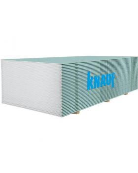 Гипсокартон KNAUF влагостойкий 9,5м х 1,2 мх2,0м  (68шт/пал)