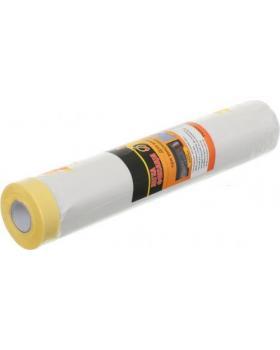 Пленка защитная с малярной лентой 2100(18) мм 20 м