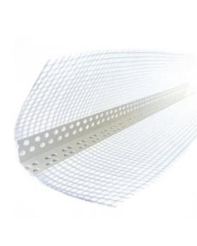 Пластиковый уголок для фасадной штукатурки (2,5 м)