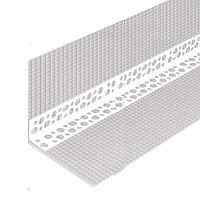 Уголок пластиковый с сеткой 10/10 см 3 м