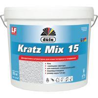 Декоративная штукатурка акриловая DUFA KRATZ Mix 15 шуба (25 кг)