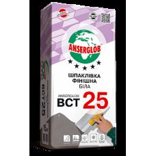 """Шпаклевка фасадная """"Anserglob"""" ВСТ-25 финишная"""