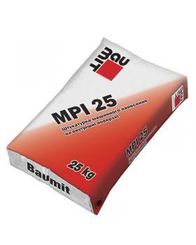 Штукатурка цементно-известковая Baumit MPI-25 (25 кг)