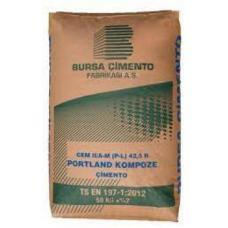 Цемент BURSA CIMENTO Турция ПЦ 550 25 кг (56 шт пал.)